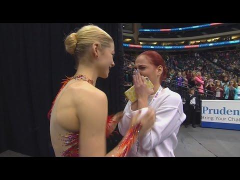 2016 U.S. Nationals - Gracie Gold winner interview NBC