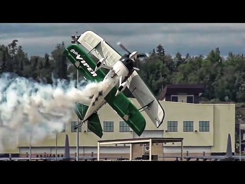 Arctic Thunder Open House 2016 Airshow • Slow-Mo Footage