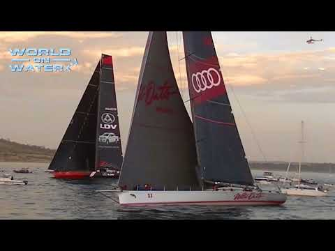 WoWTV 2017 Rolex Sydney Hobart Yacht Race Line Honours Finish Dec 28.17