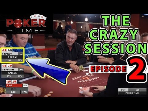 Poker Time: The Crazy Session Episode Two (S2, E2)