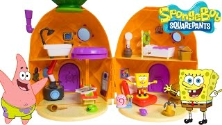 SpongeBob House SpongeBob SquarePants Pineapple House Playset Bob Esponja Губка Боб Toy Videos
