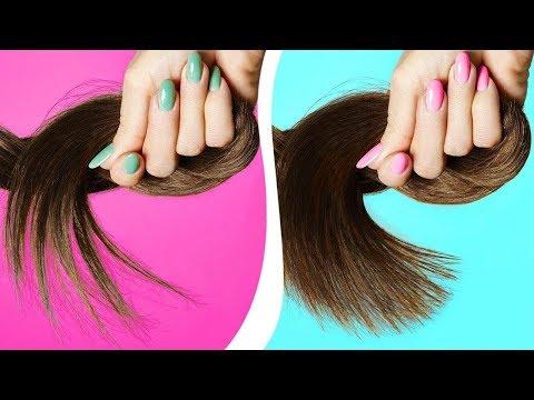 Как избавиться от сеченых волос в домашних условиях