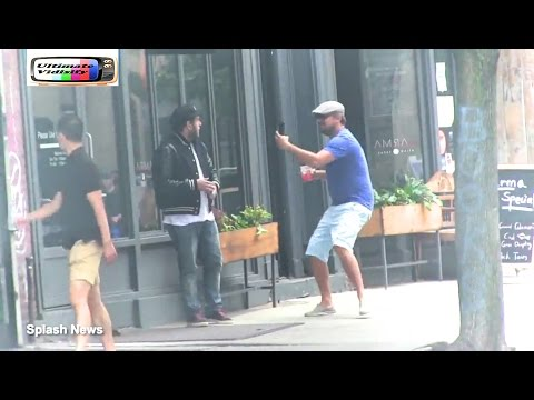 Leonardo DiCaprio Pulls Prank On Jonah Hill In New York
