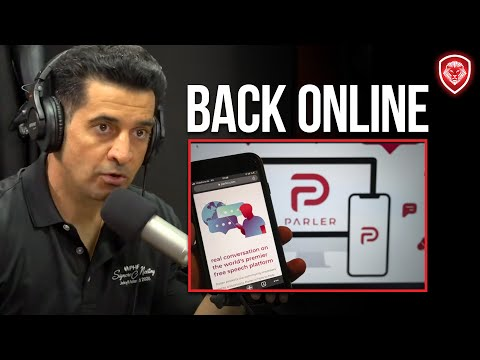 Reaction to Parler Being Back Online