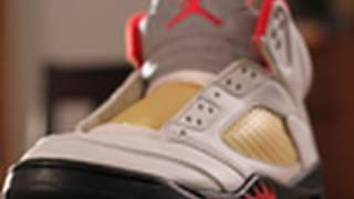 Restoration 3-2: Air Jordan 5 Cleaning Results