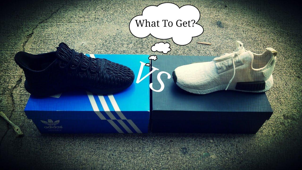 ¿Adidas tubular sombra vs NMD R1 whats Mejor?¡!!YouTube