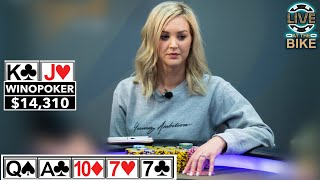 BIGGEST POT EVER for WinoPoker ♠ Live at the Bike!