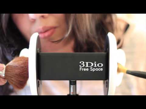 ASMR 3Dio EAR to EAR Whispering, Ear Cupping, Cleaning, Tapping and Brushing