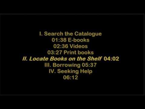 John Abbott College Library | Finding books, e-books and videos | 20161223
