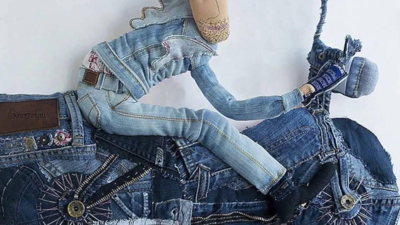 812b4959cb79 Панно из джинсовой ткани - Мебельный портал