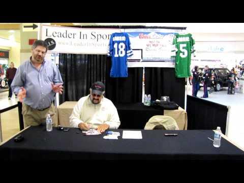 Roman Gabriel Autograph Event - 12-11-10 Fredericksburg, VA