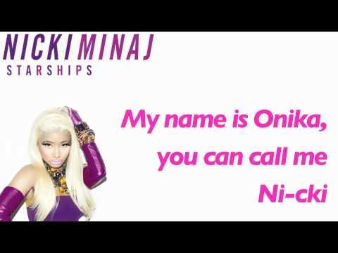 """Nicki Minaj ► """"Starships"""" ► [w/ Lyrics] + Download Link"""
