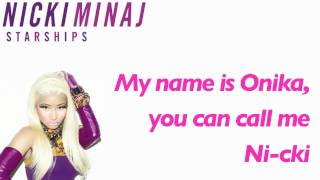 "Nicki Minaj ► ""Starships"" ► [w/ Lyrics] + Download Link"