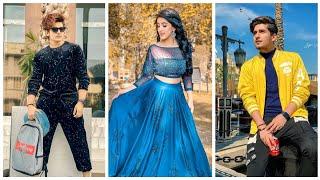 Teen Tigada Tiktok New Trending Video   Bhavin, Sameeksha, Vishal  