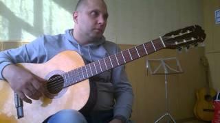 Уроки гитары.Мелодия-Листопад