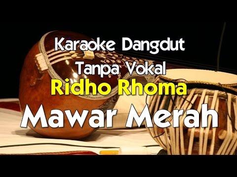 Karaoke Ridho Rhoma   Mawar Merah