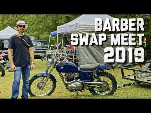 Giant Vintage Motorcycle Swap Meet / Barber Vintage Festival 2019 // Revival Daily 89