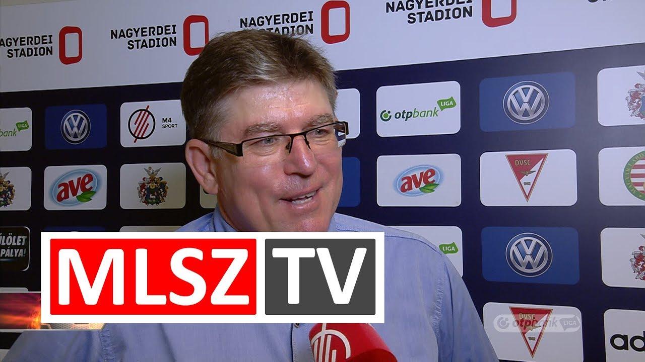 Edzői értékelések a DVSC – Vasas FC mérkőzésen