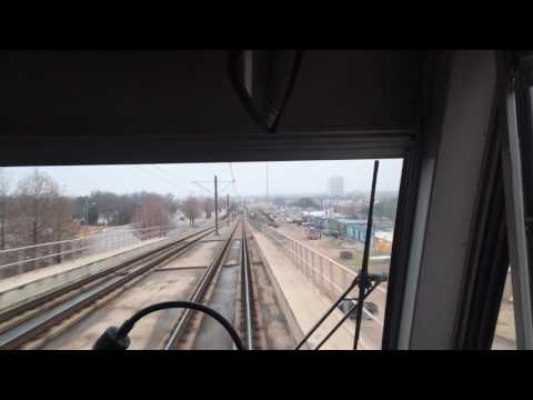 Riding Dallas Light Rail From Parker Road Station to LBJ Central Station