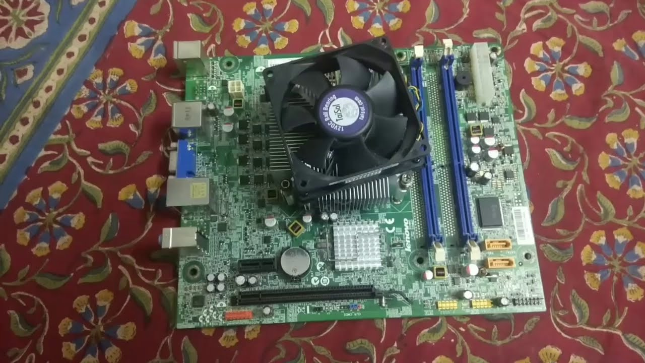 Basic Parts Of A Motherboard: Motherboard Basic Parts Introduction Part 3