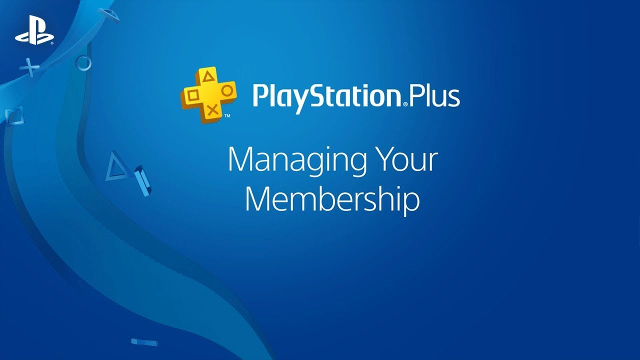 How Do I Manage My Playstation Plus Membership Ps4 Youtube