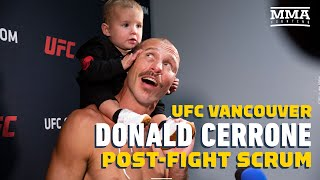 UFC Vancouver: Donald Cerrone Post-Fight Press Conference - MMA Fighting