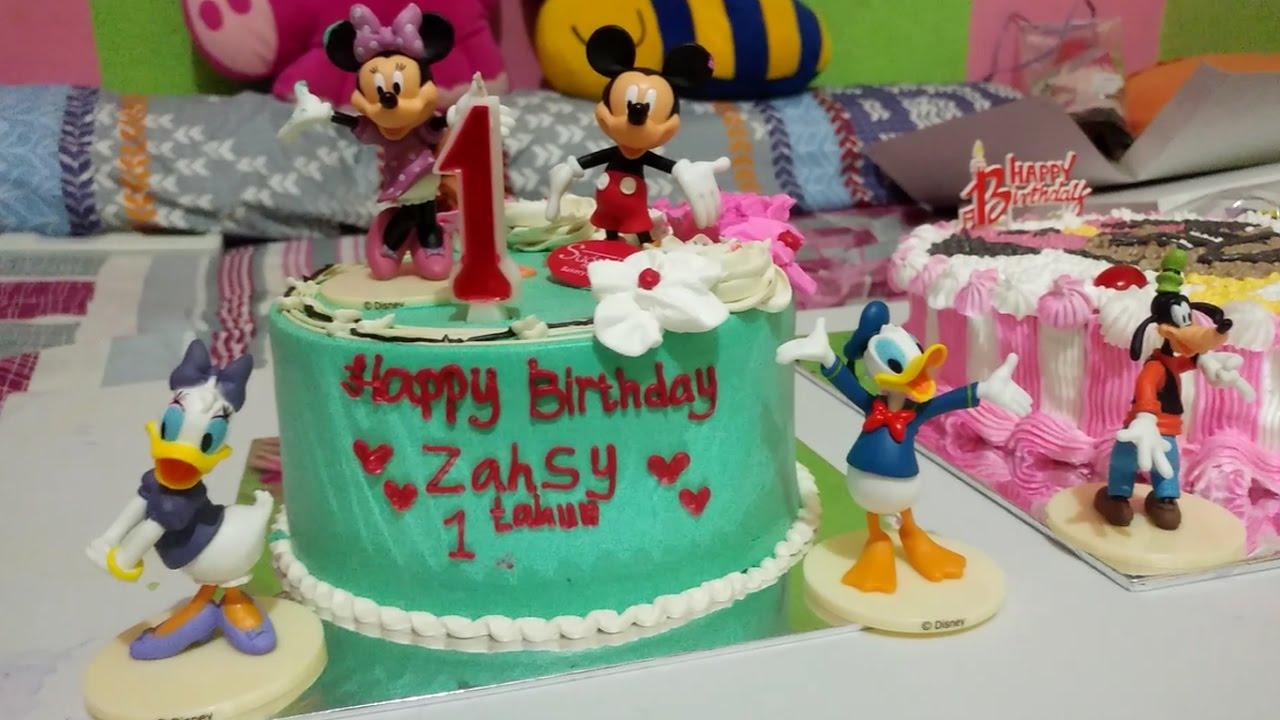Selamat Ulang Tahun Baby Lucu Zahsy Ke 1 Happy Birthday Zahsy Youtube