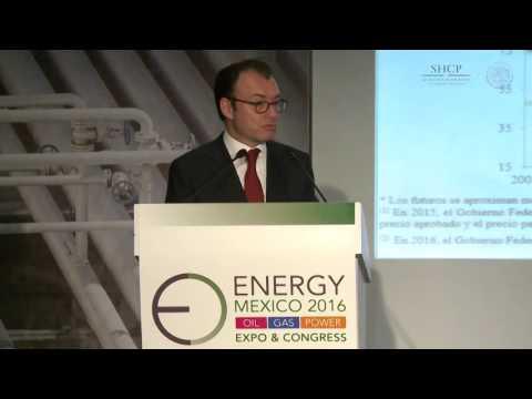 Participación del Secretario Luis Videgaray en el foro 'Energy Mexico 2016'