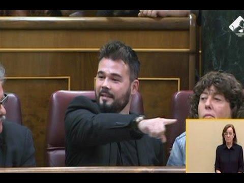 Hernando (PSOE) contesta a Gabriel Rufián (ERC)