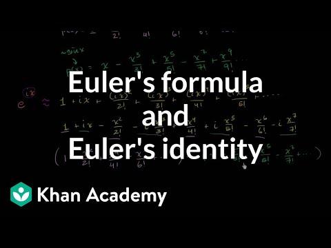 Euler's Formula and Euler's Identity