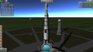 Reaching Orbit in KSP Real Solar System: A Tutorial