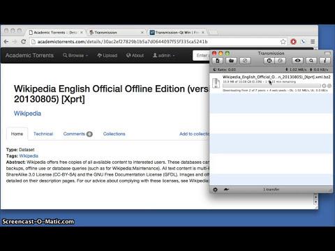 Academic Torrents: How to Download