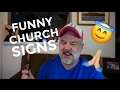 GAY GUY REACTS TO FUNNY CHURCH SIGNS!