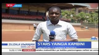 Wachezaji 17 wa Harambee Stars wakijipiga msasa