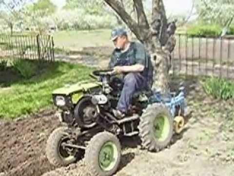 Трактор из мотоблока Нева. - YouTube