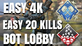 HOW TO GET INTO A BOT LOBBY APEX LEGENDS SEASON 5 UPDATE BEST METHOD