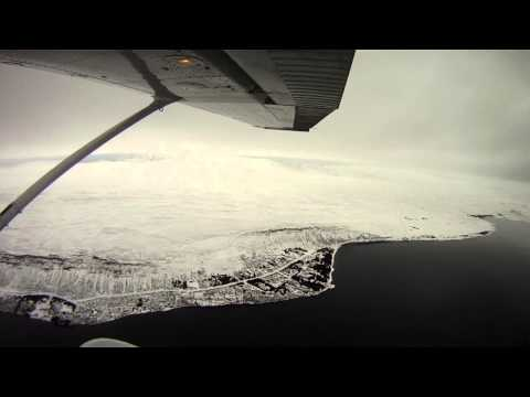 Flying in Iceland 06.02.2013