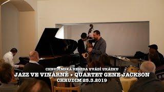 Quartet Gene Jackson - Ondřej Štveráček - Klaudius Kováč - Tomáš Baroš - Muzeum Chrudim 25.3.2019