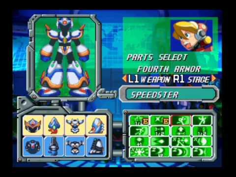 PSX Megaman X5 Hacks