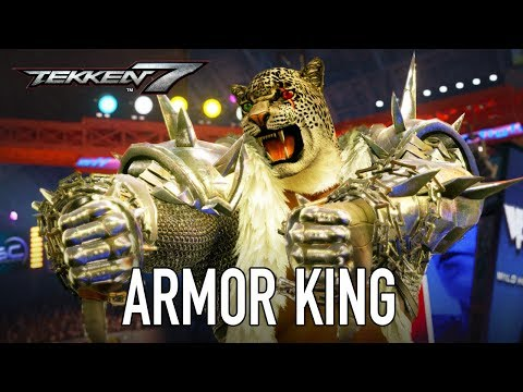 Tekken 7 - PS4/XB1/PC - Armor King (Season Pass 2 Character Trailer)