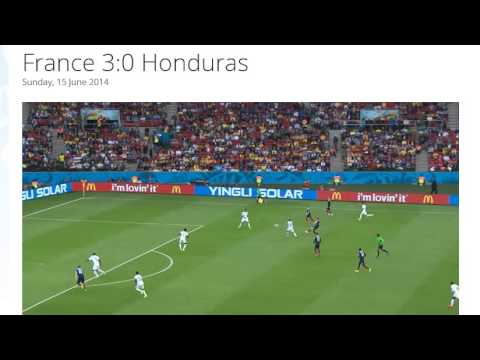 France 3-0 Honduras All Goals & Highlights HD ( FIFA World Cup Brasil 2014)