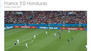 France 3-0 Honduras All Goals & Highlights HD ( FIFA World Cup Brasil 2014)