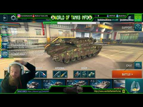 WoTi.TV is on with Tank Force!  [EU/ENG/NL]