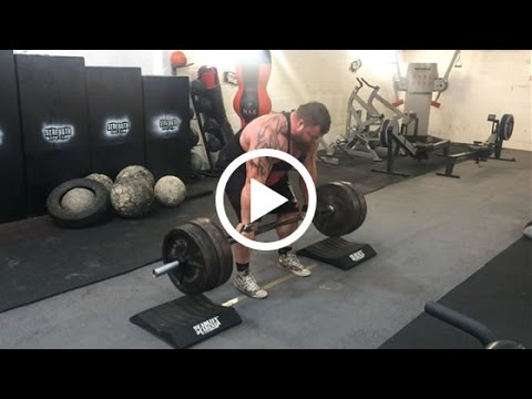 Eddie Hall's Deadlift Training and Tips, featuring the Deadlift Deadener and the 463kg World Record