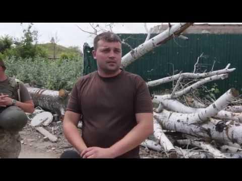 Под жестокий обстрел боевиков попал поселок Широкино