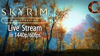 Skyrim Special Edition Live Stream, 1440p/60fps! Finishing Thieves Guild , Lvl 44, Part 36 Legendary