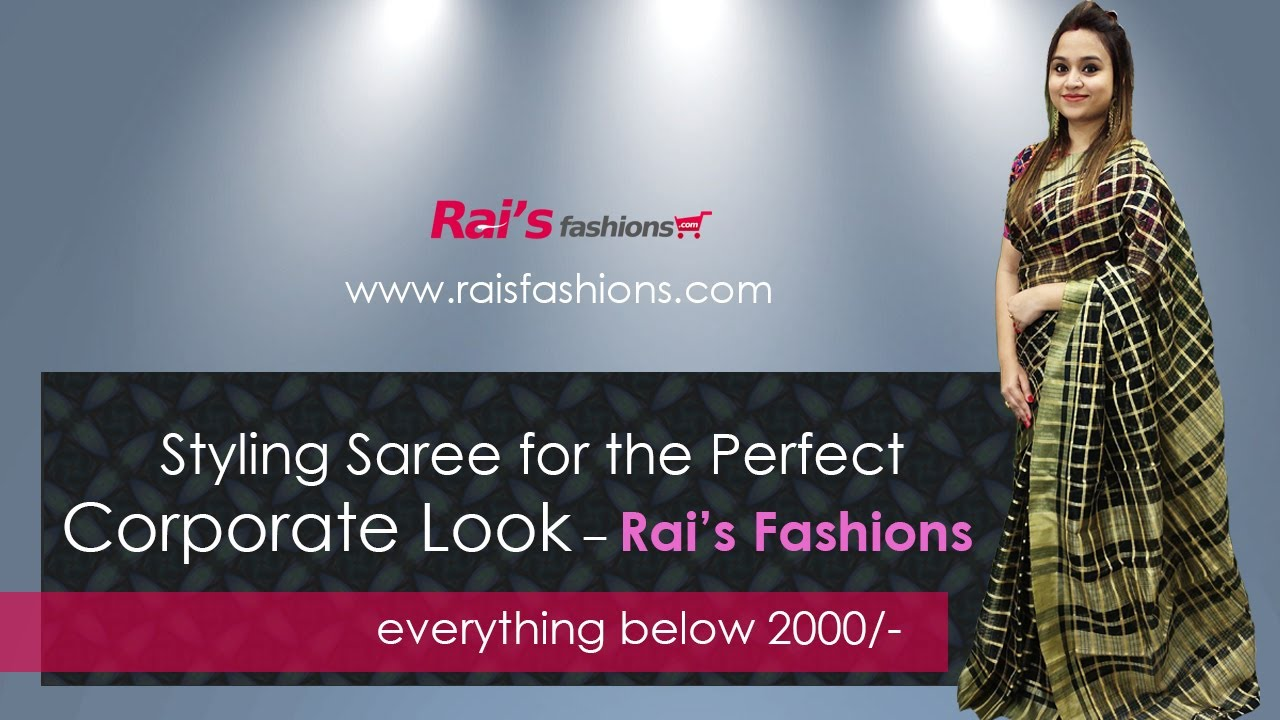 Styling Saree For The Perfect Corporate Look (12th August) - 8AR