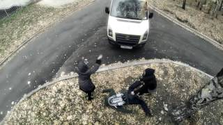 Прикольное видео от первого лица)))