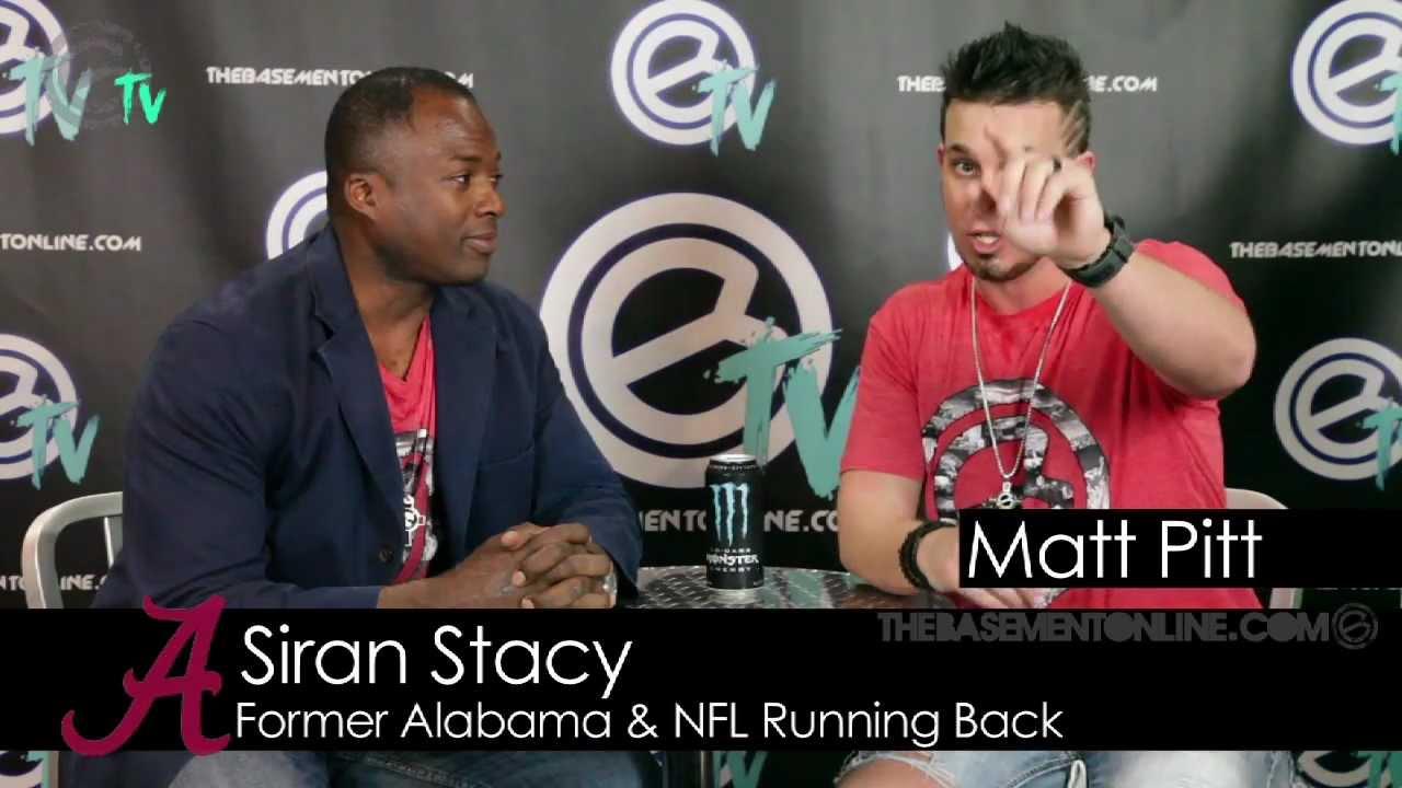 Basement TV Matt Pitt Interview With Siran Stacy