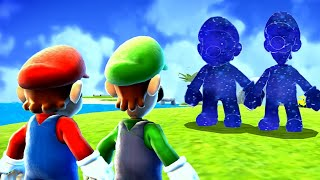 Super Mario Galaxy HD - All Cosmic Mario & Luigi Races
